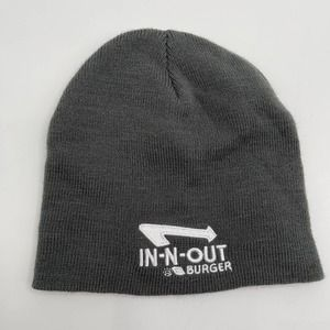 IN-N-OUT Burger logo knit hat